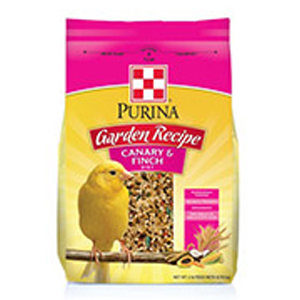 Purina garden recipe canary and finch diet red mango for Purina tropical fish food