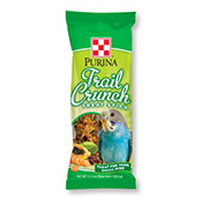 Purina trail crunch treat stick for small birds for Purina tropical fish food