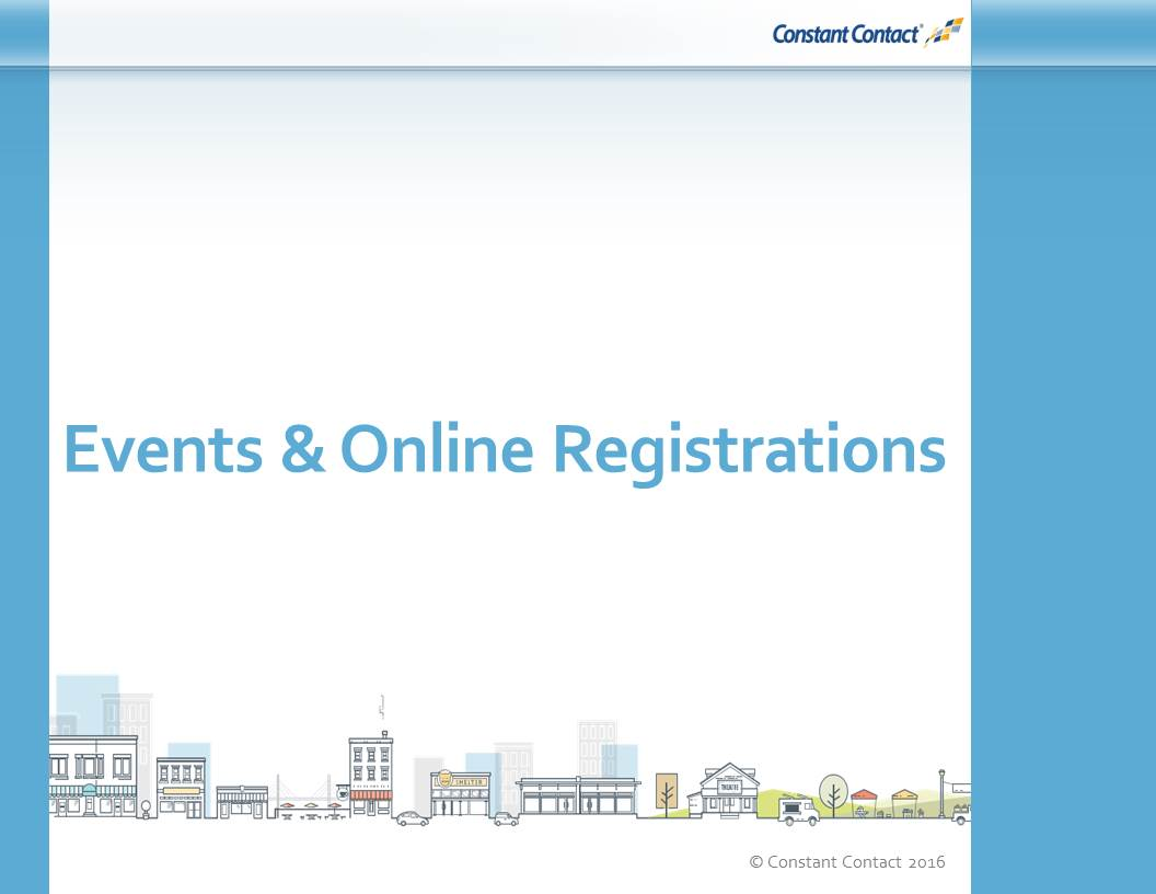 Campaigns that Drive Action: Events & Online Registrations