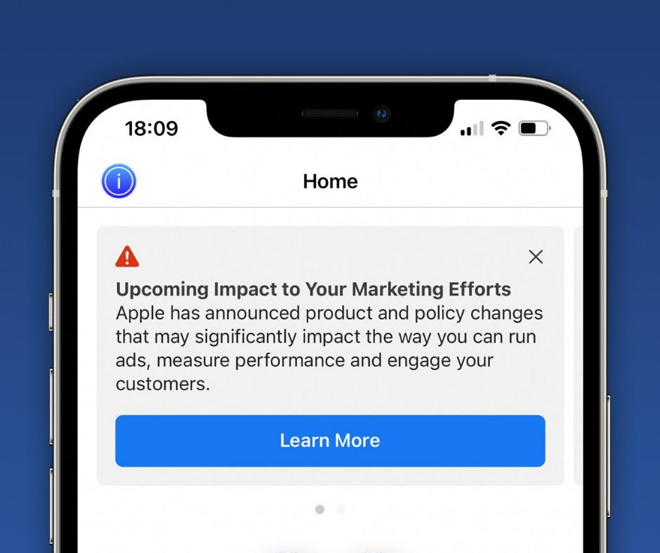 Apple iOS 14 Updates impact Facebook Ads