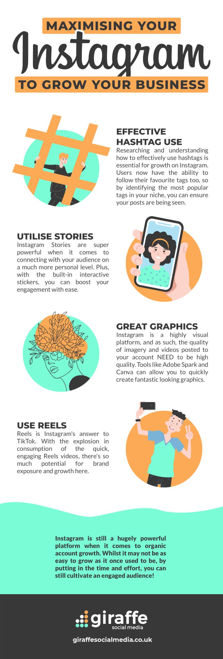 Maximize Instagram to Grow business